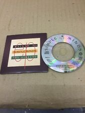 3 Inch Cd Single Ballad Of The Streets Simple Minds