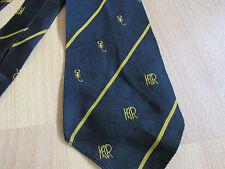 VINTAGE krfc SCORPIONI LOGO Rugby Cravatta Da Austin Reed Regent Street