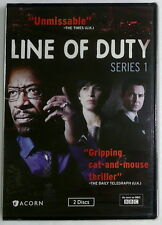 LINE OF DUTY: SERIES 1 ONE 2013 2-DVD Set W/ Bonus Features >NEW< First/1st