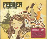 Feeder - Pushing The Senses limited edition CD and DVD set