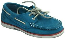 Boys Childrens Infants Timberland Casual Boat Deck Suede Shoes Trainers Size UK