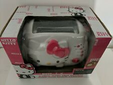 New Hello Kitty 2-Slice Wide Slot Toaster Cool Touch Exterior Bread Bagels