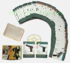Collectible Military Playing card/Poker Deck 54 The Light Weapons/Small Arms