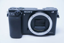 Sony Alpha A6000 24.3MP Digital Camera - Black (Body Only) IS090