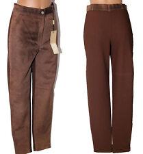Pantalone Mabrun moscato pelle 42 donna