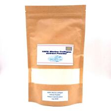 100% Pure Marine Collagen Extract Powder Hydrolysed Peptides Anti Ageing 250 gm.