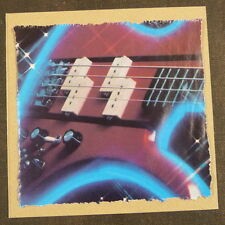 "POP-KARD feat. DiMARZIO BASS AD - 80s , 6x6"" greeting card aag"