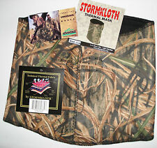 STORMKLOTH THERMAL FACE MASK BALACLAVA MOSSY OAK WATER/WIND RESISTANT SZ L/XL