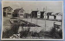 1937 REAL PHOTO POSTCARD CLACTON ON SEA TOWER ESTATE TE9