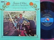 Sonny & Cher ORIG JAP LP All I ever Need is you EX '72 Folk Pop Rock MCA 5110