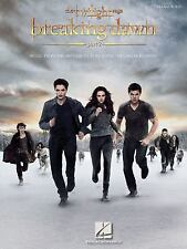 THE TWILIGHT SAGA: BREAKING DAWN, PART 2 MOVIE PIANO SOLO SHEET MUSIC SONG BOOK