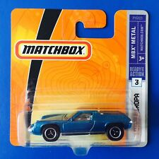 2009 Matchbox 1972 LOTUS EUROPA SPECIAL UK sports coupe - mint on short card!
