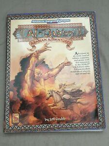 TSR AD&D  AL QADIM ARABIAN ADVENTURES 2126 ADVANCED DUNGEON DRAGON (WITH MAP) VG