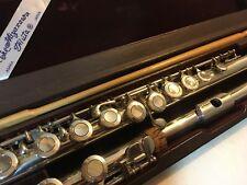 Miyazawa Solid Silver MC300 Flute - new pads