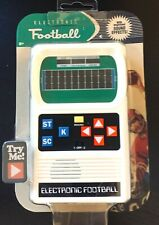 Handheld Electronic Game Football 70's Retro Mattel Classic Sounds Lights NIP