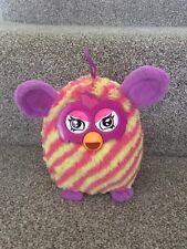 Furby Plush Soft Toy Diagonal Stripes Yellow Pink