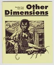 OTHER DIMENSIONS #2 JOURNAL OF MULTIMEDIA HORROR - Necronomicon Press fanzine