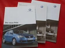 VW Polo Trendline Comfortline Sportline Prospekt + Preisliste von 2005
