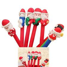 1pcs Christmas Ball Pen Cartoon Santa Claus Christmas Gifts School Supplies