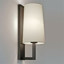 Modern Wall Light Sconce Cloth Fabric Lampshade Iron Frosted Bedside Aisle Lamp