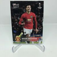 Mason Greenwood 2020 TOPPS NOW UCL Manchester United Soccer SP Rookie Card 59 RC