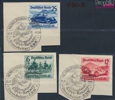 Duits Empire 695-697 gestempeld 1939 Nurburgring Autoraces (8669980