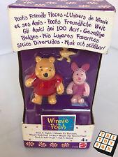Pooh's amigable lugares Pooh y lechón Mini Figuras De Fieltro En Caja