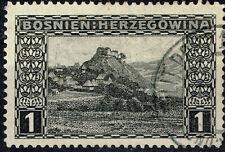 Bosnia Herzegovina Nature Balkan Mountains stamp 1918