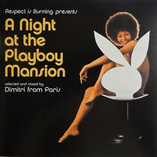 A Night at the Playboy Mansion by Dimitri from Paris (CD 2000) VG++ 9/10