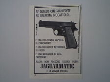 advertising Pubblicità 1966 PISTOLA JAGUARMATIC EDISON