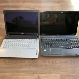 Sony VAIO PCG-7Y1M Laptop Silver And After 5535 Please Read