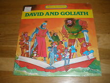 DAVID AND GOLIATH playhouse presentation LP Record - Sealed