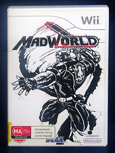 MadWorld Wii (PAL Version Wii Console ONLY, SEGA, Europe)