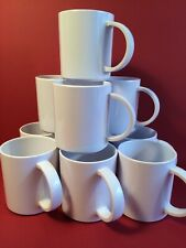 Vintage Copco Melamine Coffee Mugs - 10 Stackable Mugs