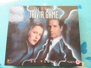 X files trivia game VHS