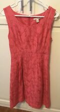Banana Republic Pink Dress With Pockets Size 4 Petite