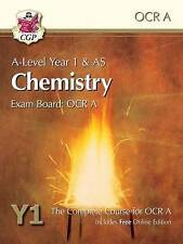 New A-Level Chemistry for OCR A: Year 1 & AS Student Book with Online...