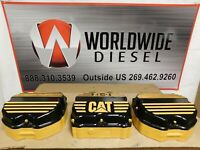 CAT C-12 2KS Valve Cover w/ Jake Riser Housing, Part # 132-9825