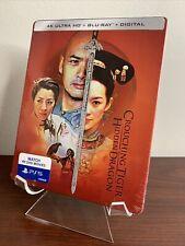 Crouching Tiger: Hidden Dragon Steelbook (4K Uhd+Blu-ray+Digital) Factory Sealed