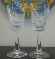Vintage Galway Irish Crystal O'Donnell 2 Red Wine Glasses