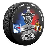 2017 Ottawa Senators v New York Rangers 2nd RD Stanley Cup Playoffs Dueling Puck