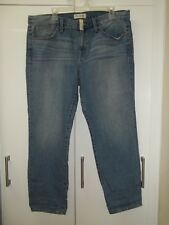 Madewell High Rise The Boyjean in Afternoon Wash Relaxed Fit Distressed Sz 30