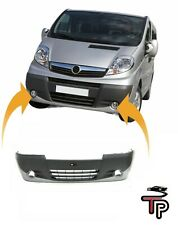 Front Bumper With Fog Light Holes For OPEL VAUXHALL VIVARO A 2006-2014
