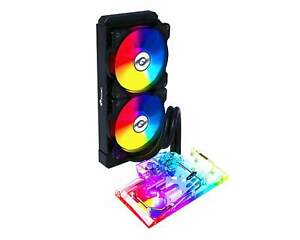 Bykski AIO Integrated Liquid GPU Cooler for Founders Edition RTX 3080 w/ 5v A...