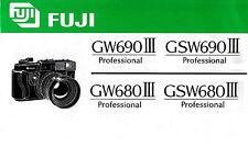 ANLEITUNG   –   FUJI GW/GSW 690 III – GW/GSW 680 III Professional