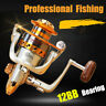 Spinning Fishing Reel EF500-EF7000 12BB Metal Spool Folding Arm Left Right 5.2:1