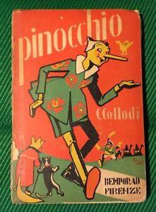 Le Avventure Pinocchio 1935 Illustrazioni Attilio Mussino