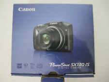 Canon PowerShot SX130-IS Camera 12.1 MP, 12x Optical Zoom, 48x combined - NEW