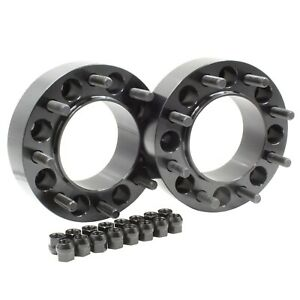 """(2pc) 8 X 6.5 TO 8 X 170 WHEEL ADAPTERS  SPACERS PUT FORD WHEELS ON CHEVY 2"""" INC"""
