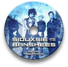 SIOUXSIE AND THE BANSHEES INDIE ROCK GUITAR TAB TABLATURE SONG SOFTWARE CD
